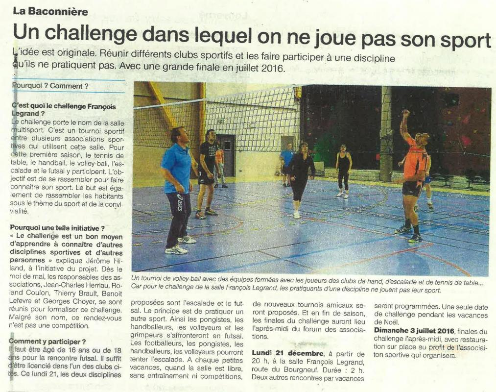 Challenge ouest france